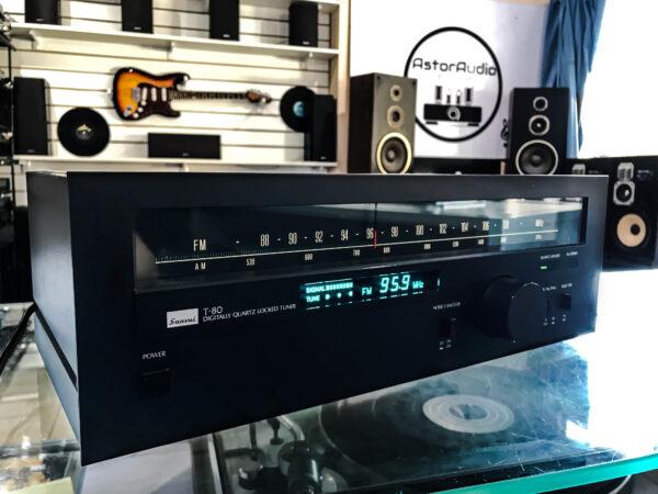 sintonizador de radio sansui t 80 audio vintage hifi córdoba