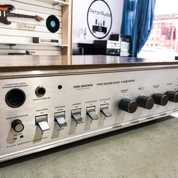 amplificador hifi vintage ken brown nacional argentina