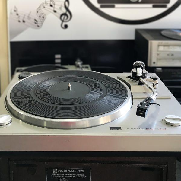 bandeja giradiscos vintage sansui p 50 hifi cordoba astoraudio vinilos